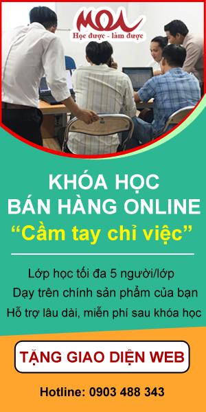 Học bán hàng online miễn phí